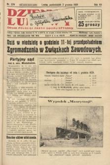 Dziennik Ludowy : organ Polskiej Partji Socjalistycznej. 1929, nr279