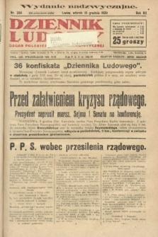 Dziennik Ludowy : organ Polskiej Partji Socjalistycznej. 1929, nr286