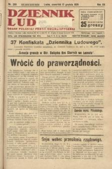 Dziennik Ludowy : organ Polskiej Partji Socjalistycznej. 1929, nr288