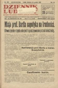 Dziennik Ludowy : organ Polskiej Partji Socjalistycznej. 1929, nr300