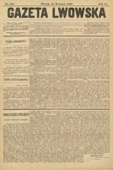 Gazeta Lwowska. 1899, nr207