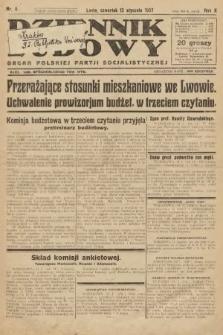 Dziennik Ludowy : organ Polskiej Partji Socjalistycznej. 1927, nr9