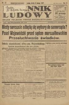 Dziennik Ludowy : organ Polskiej Partji Socjalistycznej. 1927, nr26