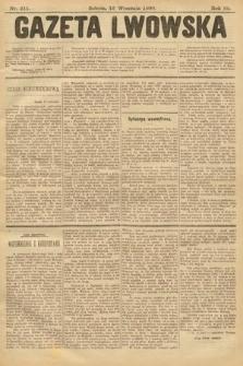 Gazeta Lwowska. 1899, nr211