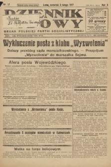 Dziennik Ludowy : organ Polskiej Partji Socjalistycznej. 1927, nr27