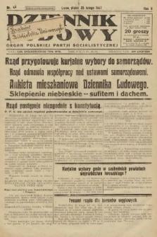 Dziennik Ludowy : organ Polskiej Partji Socjalistycznej. 1927, nr45