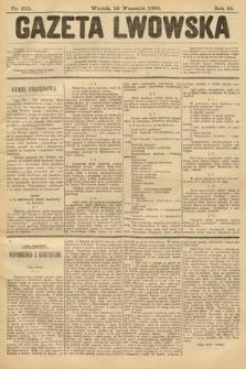 Gazeta Lwowska. 1899, nr213