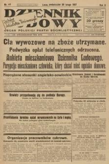 Dziennik Ludowy : organ Polskiej Partji Socjalistycznej. 1927, nr48