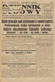 Dziennik Ludowy : organ Polskiej Partji Socjalistycznej. 1927, nr62