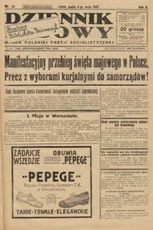 Dziennik Ludowy : organ Polskiej Partji Socjalistycznej. 1927, nr101