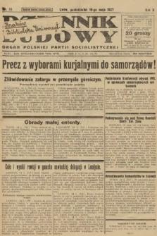 Dziennik Ludowy : organ Polskiej Partji Socjalistycznej. 1927, nr111