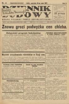 Dziennik Ludowy : organ Polskiej Partji Socjalistycznej. 1927, nr116