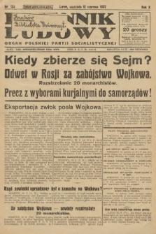 Dziennik Ludowy : organ Polskiej Partji Socjalistycznej. 1927, nr132
