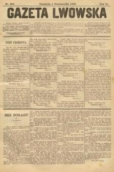 Gazeta Lwowska. 1899, nr226