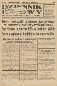 Dziennik Ludowy : organ Polskiej Partji Socjalistycznej. 1927, nr139