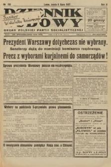 Dziennik Ludowy : organ Polskiej Partji Socjalistycznej. 1927, nr150