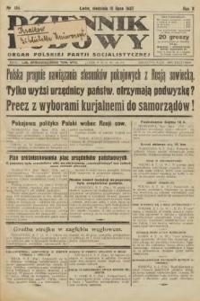 Dziennik Ludowy : organ Polskiej Partji Socjalistycznej. 1927, nr154