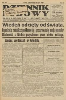 Dziennik Ludowy : organ Polskiej Partji Socjalistycznej. 1927, nr161