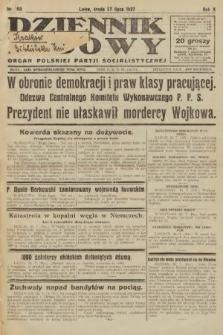 Dziennik Ludowy : organ Polskiej Partji Socjalistycznej. 1927, nr168