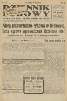 Dziennik Ludowy : organ Polskiej Partji Socjalistycznej. 1927, nr171