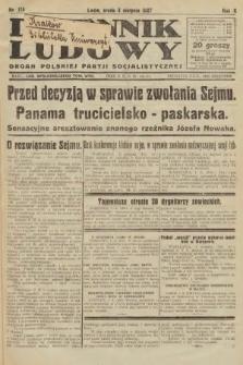 Dziennik Ludowy : organ Polskiej Partji Socjalistycznej. 1927, nr174