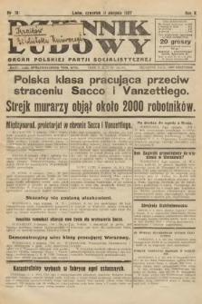 Dziennik Ludowy : organ Polskiej Partji Socjalistycznej. 1927, nr181