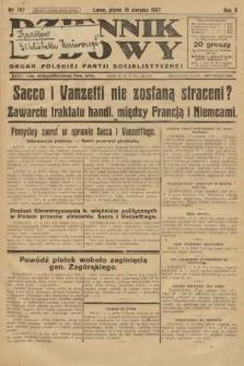 Dziennik Ludowy : organ Polskiej Partji Socjalistycznej. 1927, nr187