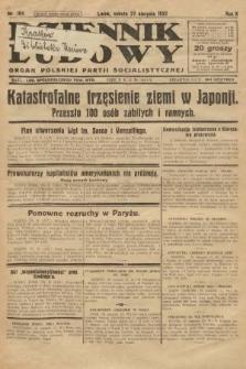 Dziennik Ludowy : organ Polskiej Partji Socjalistycznej. 1927, nr194