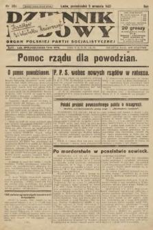 Dziennik Ludowy : organ Polskiej Partji Socjalistycznej. 1927, nr202
