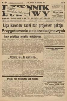 Dziennik Ludowy : organ Polskiej Partji Socjalistycznej. 1927, nr206