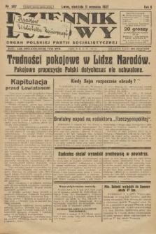 Dziennik Ludowy : organ Polskiej Partji Socjalistycznej. 1927, nr207