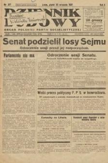 Dziennik Ludowy : organ Polskiej Partji Socjalistycznej. 1927, nr217