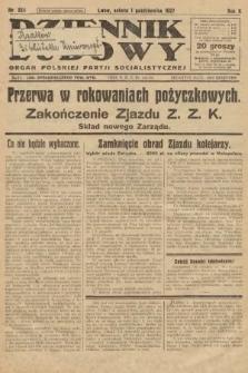 Dziennik Ludowy : organ Polskiej Partji Socjalistycznej. 1927, nr224