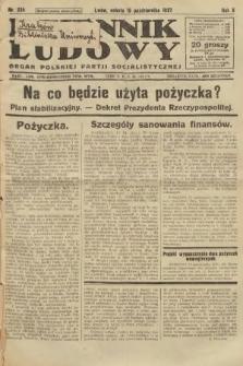 Dziennik Ludowy : organ Polskiej Partji Socjalistycznej. 1927, nr236