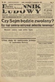 Dziennik Ludowy : organ Polskiej Partji Socjalistycznej. 1927, nr238