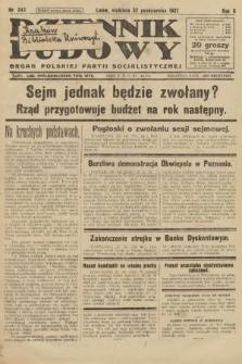 Dziennik Ludowy : organ Polskiej Partji Socjalistycznej. 1927, nr243