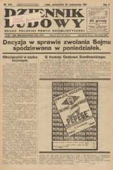 Dziennik Ludowy : organ Polskiej Partji Socjalistycznej. 1927, nr244