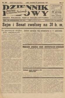 Dziennik Ludowy : organ Polskiej Partji Socjalistycznej. 1927, nr246