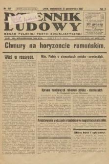 Dziennik Ludowy : organ Polskiej Partji Socjalistycznej. 1927, nr250