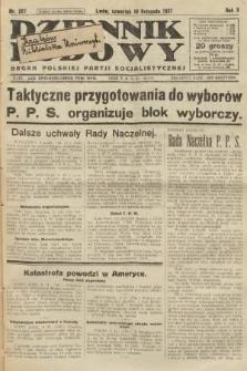 Dziennik Ludowy : organ Polskiej Partji Socjalistycznej. 1927, nr257