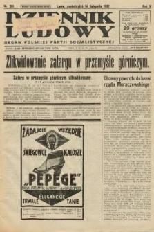 Dziennik Ludowy : organ Polskiej Partji Socjalistycznej. 1927, nr261