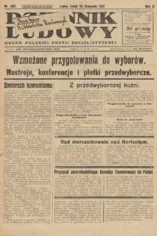 Dziennik Ludowy : organ Polskiej Partji Socjalistycznej. 1927, nr268