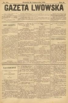 Gazeta Lwowska. 1899, nr241