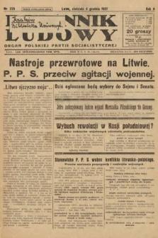 Dziennik Ludowy : organ Polskiej Partji Socjalistycznej. 1927, nr278