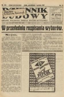 Dziennik Ludowy : organ Polskiej Partji Socjalistycznej. 1927, nr279