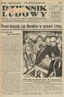 Dziennik Ludowy : organ Polskiej Partji Socjalistycznej. 1927, nr284