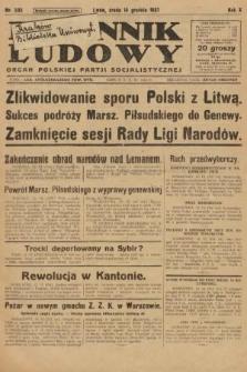 Dziennik Ludowy : organ Polskiej Partji Socjalistycznej. 1927, nr285
