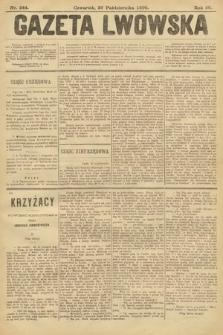 Gazeta Lwowska. 1899, nr244