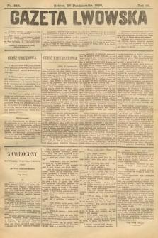 Gazeta Lwowska. 1899, nr246
