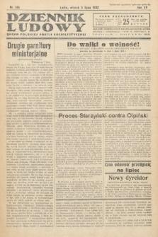 Dziennik Ludowy : organ Polskiej Partij Socjalistycznej. 1932, nr149
